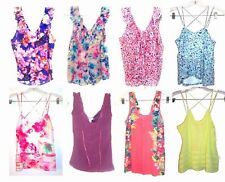 Tank, Cami Polyester Regular Floral Tops & Blouses for Women