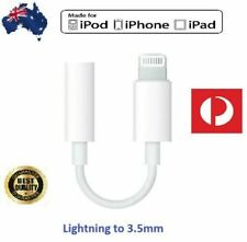Apple iPhone to AUX 3.5mm Audio Jack Adapter For 7 8 X XS MAX XR 11Pro FREE POST