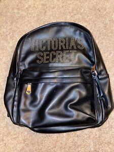 Genuine Victoria's Secret Black Backpack