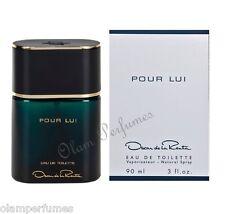 Pour Lui For Men by Oscar de la Renta Eau de Toilette Spray 3.0oz 90ml * New *