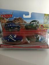 Disney Pixar Cars - Brent Mustangburger & David Hobbscapp Official Diecast