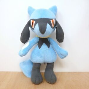 Official Pokemon Takara Tomy 2008 Standing Riolu Plush Soft Toy Japan Import 12""