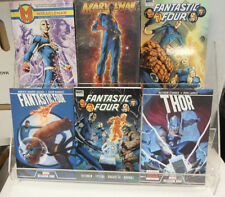 Marvel Comics Lot of 6 Hardcovers Thor Fantastic Four Marvelman Miracleman TPB