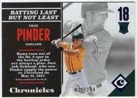 2017 Panini Chronicles Baseball Blue Parallel /299 #141 RC Chad Pinder
