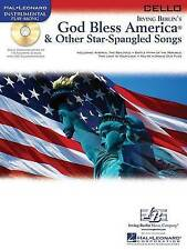 God Bless America & Other Star-Spangled Songs For Cello BK/CD (Hal Leonard Instr