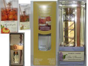 Yankee Candle Fragranced Premium Reed Diffuser Glass u pick scent
