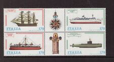 Italy MNH 1978 Ships,Boats  set mint  stamps