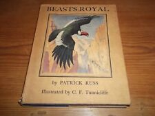 Book Beasts Royal Patrick Russ O'Brian Illustrated by C. F. Tunnicliffe 1st 1934
