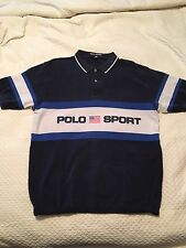 Vintage Polo Sport Spell Out Shirt Sz Large