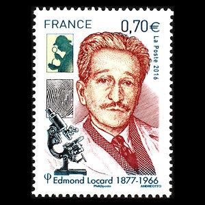 France 2016 - Mort De Edmond Locard, 1877-1966 Science - Sc 5020 MNH