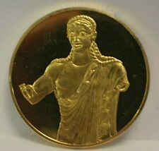 Franklin Mint Sterling Silver Art Medal Apollo Of Veii c.510 B.C. Etruscan