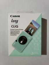 Canon  IVY Cliq Instant Film Camera Mint Green 3884C001 Brand New