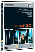 Vertigo DVD (2005) James Stewart, Hitchcock (DIR) cert 12 ***NEW*** Great Value