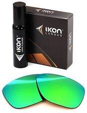 Polarized IKON Iridium Replacement Lenses For Oakley Garage Rock Emerald Mirror