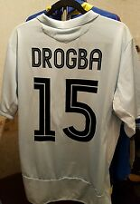 Chelsea Football Shirt Drogba 15 Extra Large