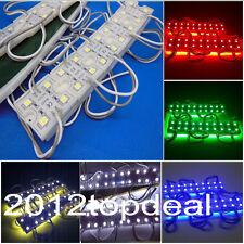 5050 SMD white RGB Red Green Blue Module 4LED Light Waterproof Lamp 12V DC