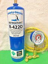 Refrigerant R422D, R-422D, R422 (R22 R-22 R-407C R-417A Substitute)