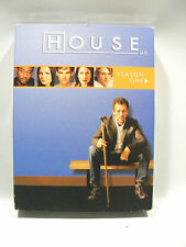 House M.D. Season One 1 DVD 2005 6-Disc Set Hugh Laurie Special Features