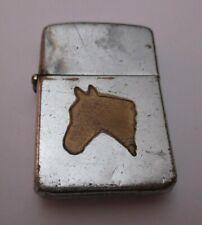 Very Rare TOWN & COUNTRY ZIPPO Lighter HORSE circa 1950