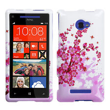 Spring Flowers Phone Cover for HTC Windows Phone 8X HTC 6990LVW Windows 8X