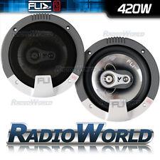 "FLI FI6 6.5"" 17cm 3 way Car Coaxial Door/Shelf/Dash Speakers 420W Pair"