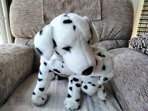 Dalmatian Dog Plush With Puppy Stuffed Toy
