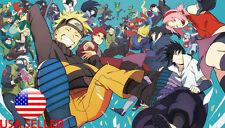"Naruto Sasuke Sakura kakashi 42"" x 24"" Large Wall Poster Print Anime NEW #33"