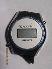 Vintage Men's Rodania digital watch parts/repair #80-100