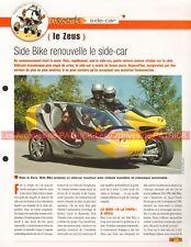SIDE BIKE Zeus Side Car  Joe Bar Team Fiche Moto #006652
