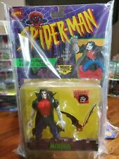 Spiderman Morbius Action Figure Moc 1995 Toy Biz Animated Series Marvel Vampire