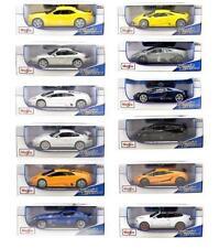 Artículos de automodelismo y aeromodelismo Maisto, Cars