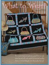 "What To Wear   Finished Size- 52""x52""    Quilt  Pattern Only"