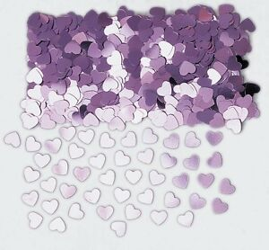 Sparkle Hearts Pale Pink | Wedding Table Confetti | Foiletti Decoration 14-84g