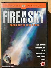 Fire in the Sky DVD 1993 True Life UFO Alien Abusuction Sci-Fi Drama Movie