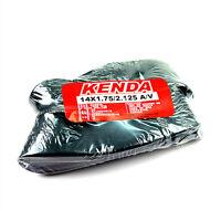 x2 KENDA 14x1.75/2.125 A/V Schrader/American Valve Mini Bike Tubes Tyres Tires
