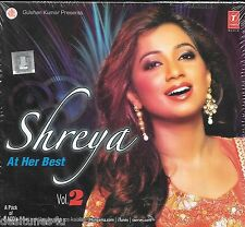 SHREYA [GHOSHAL] AT HER BEST VOL 2 - 2 CD BOLLYWOOD COMPILATION SET - FREE POST