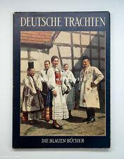 Tolles Buch DEUTSCHE TRACHTEN um 1958