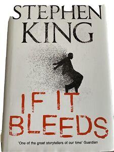 If It Bleeds by Stephen King (2020, Hardback)