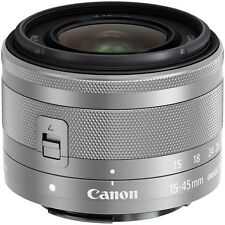 Canon EF-M 15-45mm f/3.5-6.3 IS STM-Silver(bulk)