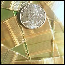 "1010 Gold Color Small Mini Ziplock 100 Bags Apple Brand Plastic Baggies 1"" X 1"""