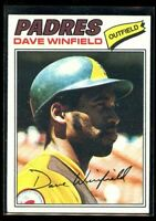 1977 TOPPS #390 DAVE WINFIELD PADRES NM/MT D016693