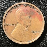 1922 D Wheat Penny Lincoln Cent 1c Higher Grade #14367