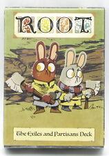 Root LED01004 The Exiles and Partisans Deck (Alternate Card Deck) Leder Games