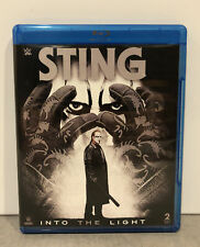 WWE Sting Into the Light (Blu-ray Disc, 2015, 2-Disc Set) HTF OOP Rare