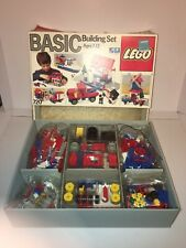 LEGO 720 Basic Building Set Toy 325 Pieces 1985 Sealed Bags in Open Box