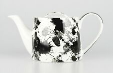 "JAMESON&TAILOR Designer-Teekanne Dekor ""Tintenkleckse"", Brillantporzellan, 1,0l"
