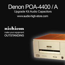 Denon POA-4400 / A Upgrade Kit Audio Capacitors