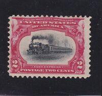 US 295 2c Pan-American Mint F-VF OG NH SCV $37.50