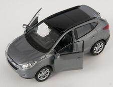 Blitz envío hyundai tucson ix gris/Gray Welly modelo auto 1:34 nuevo & OVP