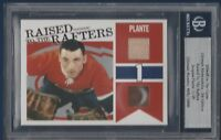 JACQUES PLANTE 04-05 ITG ULTIMATE RAISED TO THE RAFTERS 2004-05 1/25  15217